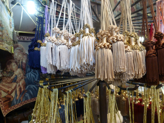 Superieur Passementerie Is The Art Of Making Decorative Trimming Such As Tassels,  Braid, And Fringing, Used On Furniture And Clothing (e.g. Military  Uniforms.)